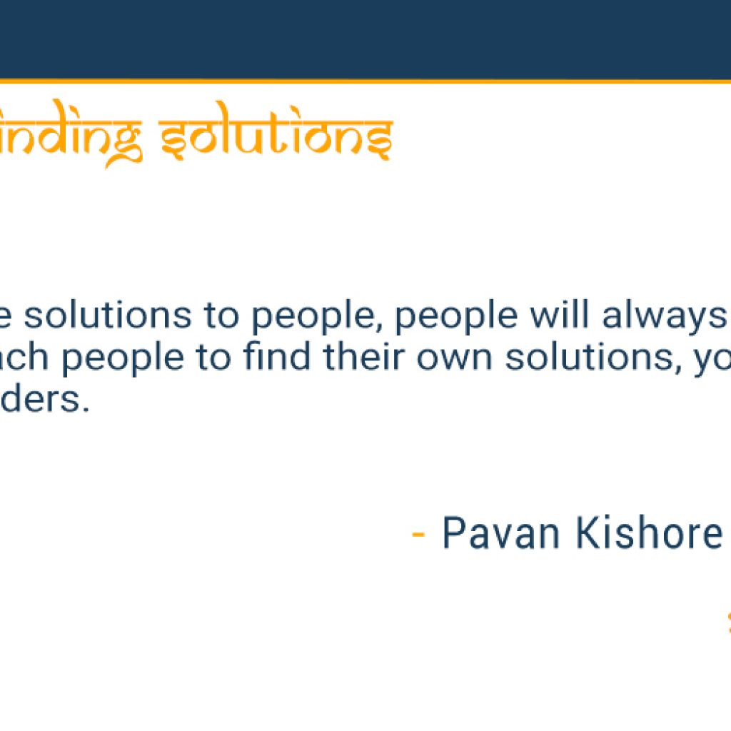 giving-vs.-finding-solutions